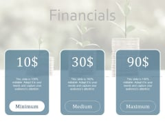 Financials Yearly Operating Plan Ppt PowerPoint Presentation Icon Files