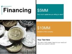 Financing Ppt PowerPoint Presentation Icon Ideas