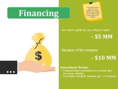 Financing Ppt PowerPoint Presentation Outline Slide Portrait