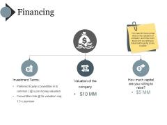Financing Ppt PowerPoint Presentation Portfolio Clipart Images