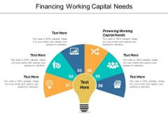 Financing Working Capital Needs Ppt PowerPoint Presentation Styles Format Cpb