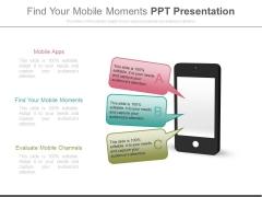 Find Your Mobile Moments Ppt Presentation