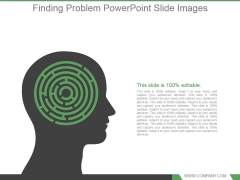 Finding Problem Powerpoint Slide Images