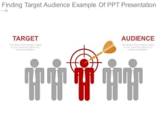 Finding Target Audience Example Of Ppt Presentation