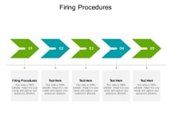 Firing Procedures Ppt PowerPoint Presentation Ideas Graphics Cpb