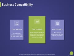 Firm Capability Assessment Business Compatibility Ppt Layouts Gallery PDF