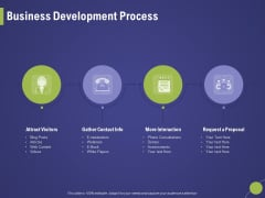 Firm Capability Assessment Business Development Process Ppt File Show PDF