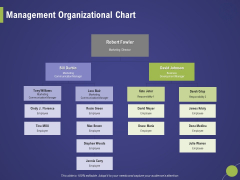 Firm Capability Assessment Management Organizational Chart Ppt Infographic Template Example 2015 PDF