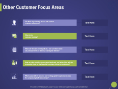 Firm Capability Assessment Other Customer Focus Areas Ppt Ideas Display PDF