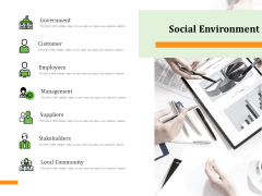 Firm Condition Assessment Social Environment Ppt Model File Formats PDF