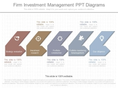 Firm Investment Management Ppt Diagrams