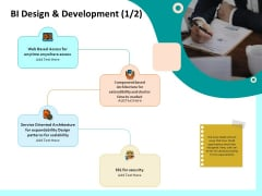 Firm Productivity Administration BI Design And Development Access Ppt PowerPoint Presentation Show Examples PDF