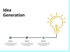 Firm Productivity Administration Idea Generation Ppt PowerPoint Presentation Infographic Template Background Images PDF