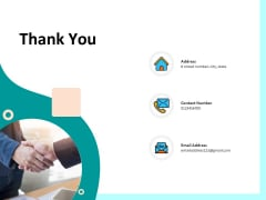 Firm Productivity Administration Thank You Ppt PowerPoint Presentation Layouts Microsoft PDF