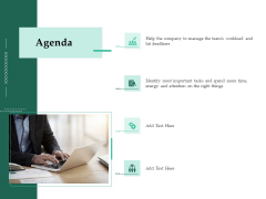 Firm Project Prioritization And Selection Agenda Summary PDF