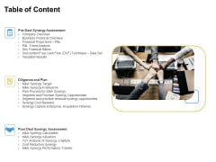 Firm Working Together Table Of Content Ppt Show Slides PDF