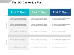 First 90 Day Action Plan Ppt PowerPoint Presentation File Introduction