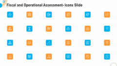 Fiscal And Operational Assessment Icons Slide Portrait PDF