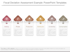 Fiscal Deviation Assessment Example Powerpoint Templates