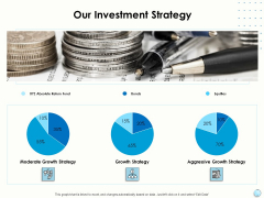 Fiscal Management Our Investment Strategy Ppt Summary Maker PDF