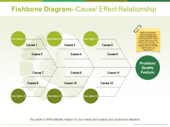 Fishbone Diagram Cause Effect Relationship Ppt PowerPoint Presentation Professional Background Designs