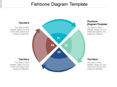 Fishbone Diagram Template Ppt Powerpoint Presentation Model Example File Cpb