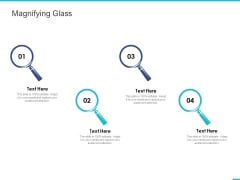 Fishbone Ishikawa Cause And Effect Analysis Magnifying Glass Ppt PowerPoint Presentation Summary Objects PDF