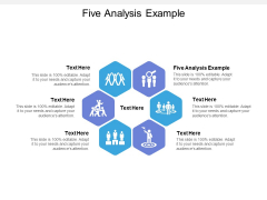 Five Analysis Example Ppt PowerPoint Presentation Infographics Summary Cpb