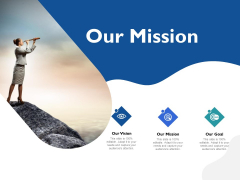 Five Business Strategic Approaches Our Mission Ppt Show Outline PDF
