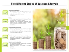 Five Different Levels Of Business Journey Ppt PowerPoint Presentation Icon Layouts PDF