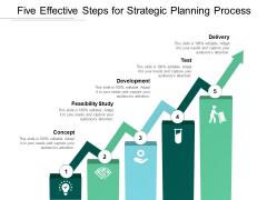 Five Effective Steps For Strategic Planning Process Ppt PowerPoint Presentation Portfolio Ideas