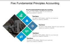 Five Fundamental Principles Accounting Ppt PowerPoint Presentation File Good Cpb