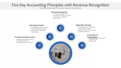 Five Key Accounting Principles With Revenue Recognition Ppt PowerPoint Presentation Deck PDF