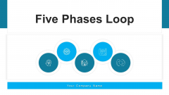 Five Phases Loop Developing Strategy Ppt PowerPoint Presentation Complete Deck With Slides