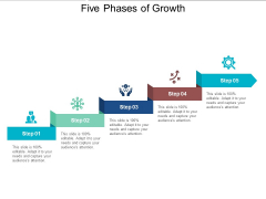 Five Phases Of Growth Ppt PowerPoint Presentation Portfolio Slide Download