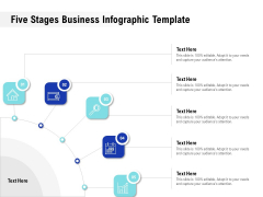 Five Stages Business Infographic Template Ppt PowerPoint Presentation Layouts Samples