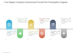 Five Stages Company Achievement Ppt PowerPoint Presentation Inspiration