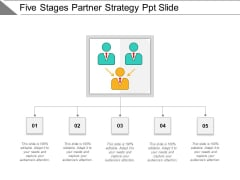 Five Stages Partner Strategy Ppt Slide Ppt PowerPoint Presentation Ideas Picture PDF