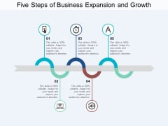 Five Steps Of Business Expansion And Growth Ppt PowerPoint Presentation Summary Structure