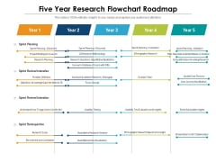 Five Year Research Flowchart Roadmap Background