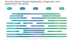 Five Year Search Engine Optimization Diagnostics And Optimization Roadmap Template