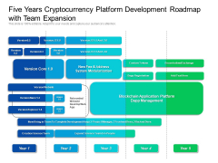 Five Years Cryptocurrency Platform Development Roadmap With Team Expansion Rules