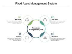 Fixed Asset Management System Ppt PowerPoint Presentation Ideas Outfit Cpb