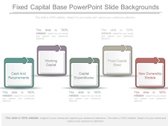 Fixed Capital Base Powerpoint Slide Backgrounds