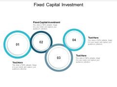 Fixed Capital Investment Ppt PowerPoint Presentation Ideas Master Slide Cpb