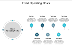 Fixed Operating Costs Ppt PowerPoint Presentation Slides Templates Cpb