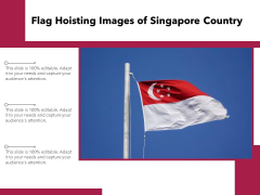 Flag Hoisting Images Of Singapore Country Ppt PowerPoint Presentation Summary Microsoft PDF