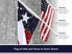 Flag Of USA And Texas In Snow Storm Ppt PowerPoint Presentation Summary Backgrounds PDF