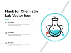Flask For Chemistry Lab Vector Icon Ppt PowerPoint Presentation Ideas Sample PDF