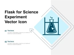 Flask For Science Experiment Vector Icon Ppt PowerPoint Presentation Outline Microsoft PDF